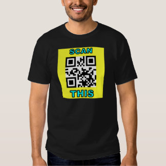 THE JOKE IS ON YOU (Qr Message Code Product) Shirt