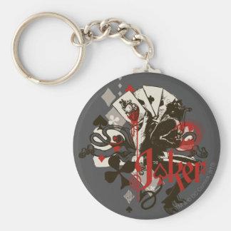 The Joker - 4 Aces Bleeding Heart Devil Keychain