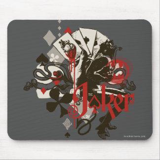 The Joker - 4 Aces Bleeding Heart Devil Mouse Pad