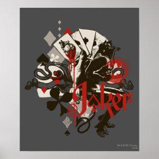 The Joker - 4 Aces Bleeding Heart Devil Poster