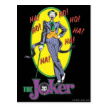 The Joker Cackles 2 Postcard