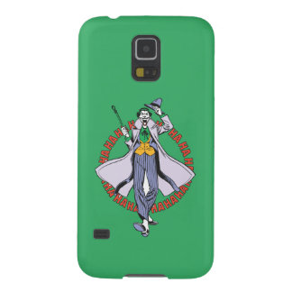The Joker Cackles Galaxy S5 Cover