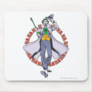 The Joker Cackles Mouse Pad