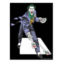 The Joker Casts Cards