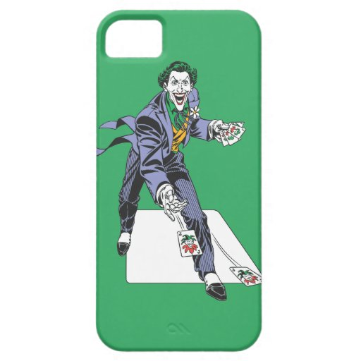 The Joker Casts Cards iPhone SE/5/5s Case