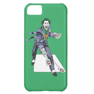 The Joker Casts Cards iPhone 5C Cases