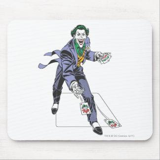 The Joker Casts Cards Mousepads
