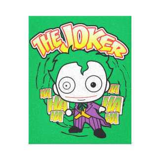 The Joker - Chibi Canvas Prints