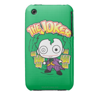 The Joker - Chibi iPhone 3 Case-Mate Cases