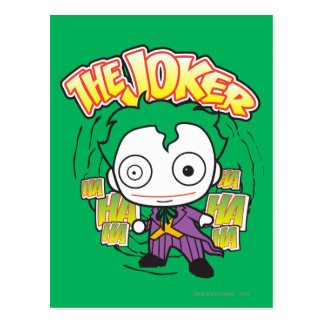 The Joker - Chibi Postcard