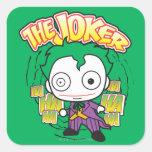 The Joker - Chibi Square Sticker
