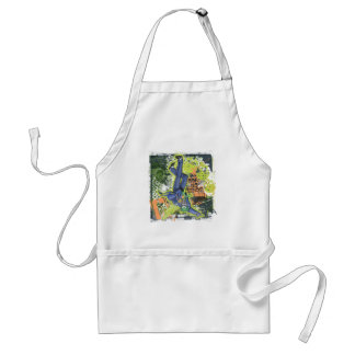 The Joker Collage Adult Apron
