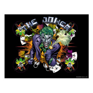 The Joker - Explosion Postcard