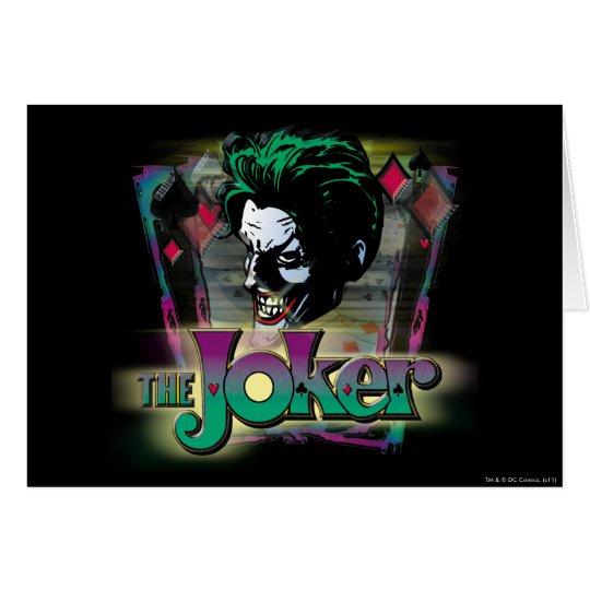 The Joker - Face and Logo Card