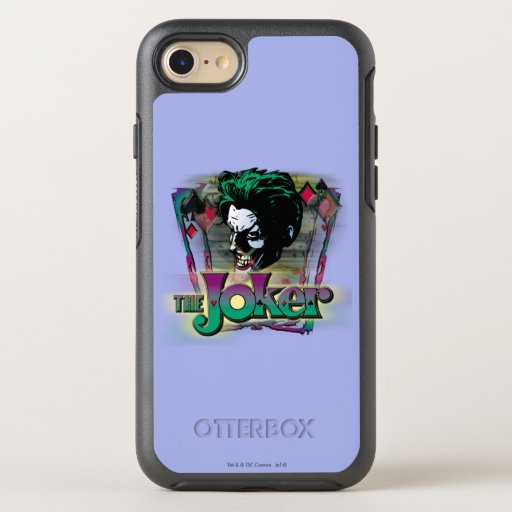 The Joker - Face and Logo OtterBox Symmetry iPhone 8/7 Case