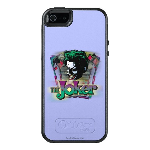 The Joker - Face and Logo OtterBox iPhone 5/5s/SE Case