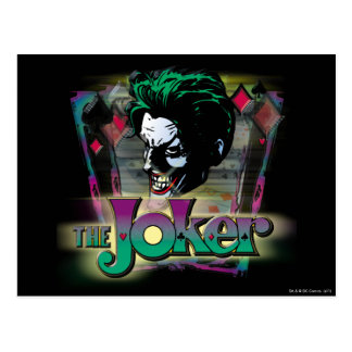 The Joker - Face and Logo Postcard
