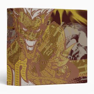 The Joker Gun / Bang Carnival Collage 3 Ring Binder