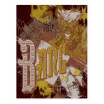 The Joker Gun / Bang Carnival Collage Postcard