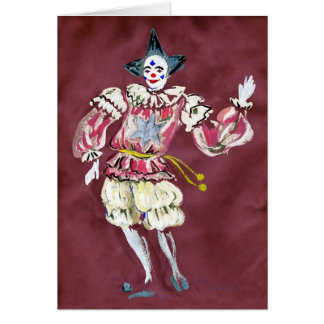The Joker in the Pack Good Luck Greeting Card