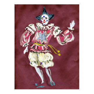 The Joker in the Pack Good Luck Postcard