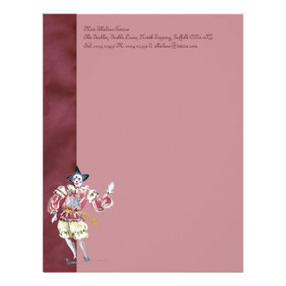 The Joker in the Pack Stationery Custom Letterhead