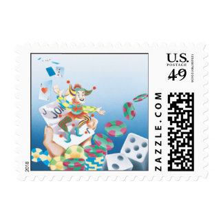 The Joker Is Wild © Postage Stamp