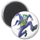 The Joker Jumps 2 Inch Round Magnet