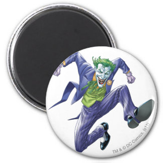 The Joker Jumps Refrigerator Magnet