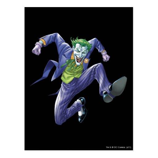 The Joker Jumps Postcard
