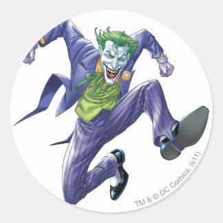 The Joker Jumps Sticker
