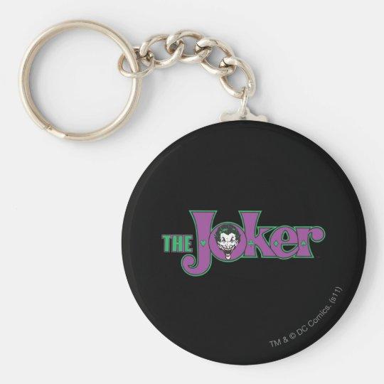 The Joker Logo Keychain