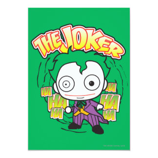 The Joker - Mini Card