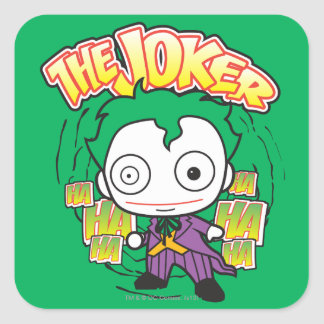 The Joker - Mini Square Sticker