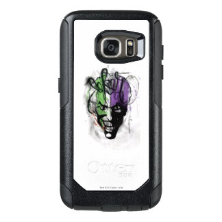 The Joker Neon Airbrush Portrait OtterBox Samsung Galaxy S7 Case