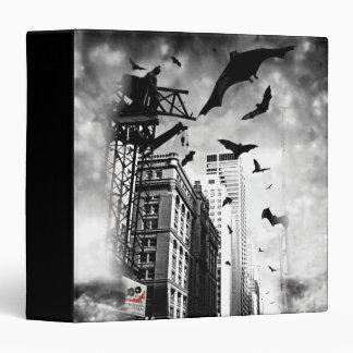 The Joker Neon Montage Vinyl Binder