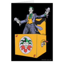 The Joker Out of the Box Card