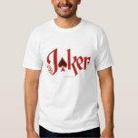The Joker Playing Card Logo Tee Shirts