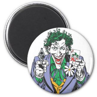 The Joker Points Gun Magnet