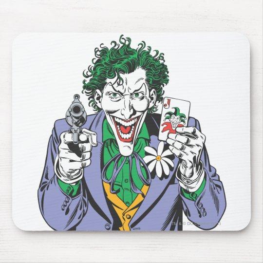 The Joker Points Gun Mouse Pad