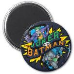 The Joker Vs Batman Fridge Magnets