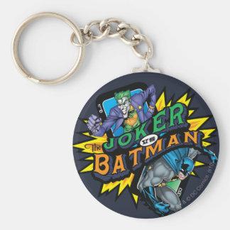 The Joker Vs Batman Keychain