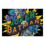 The Joker Vs Batman Poster