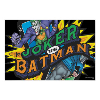 The Joker Vs Batman Poster