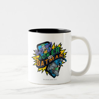 The Joker Vs Batman Two-Tone Coffee Mug