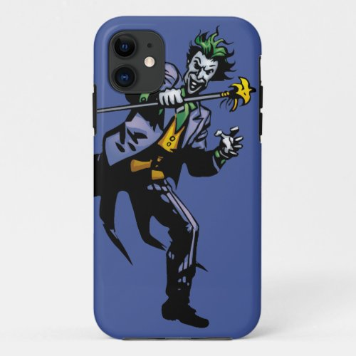 The Joker with cane Phone Case