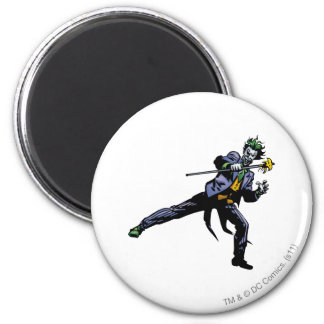 The Joker with cane Magnet