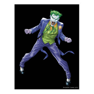 The Joker Yells Postcard