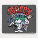 The Joker's Wild Mouse Pad