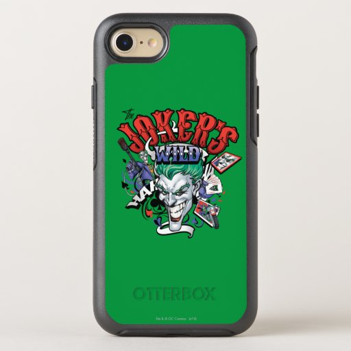 The Joker's Wild OtterBox Symmetry iPhone SE/8/7 Case